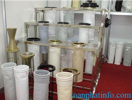 Túi lọc bụi chịu nhiệt vải PPST