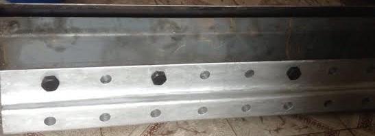 kẹp nối băng tải gầu lõi thép