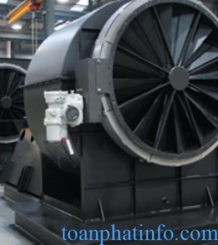 Quạt công nghiệp hút gió công suất lớn