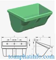 Gầu tải AA - Gầu nhựa Sanwei